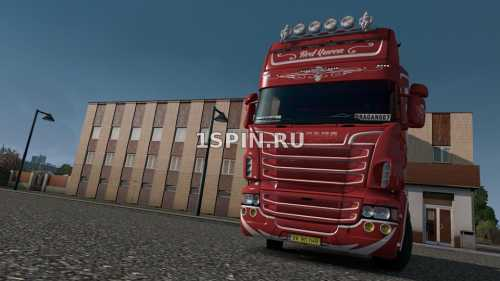 SCANIA RJL RED QUEEN SKIN