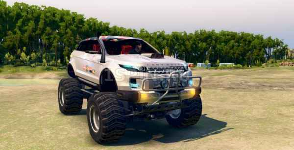 Land Rover Evoque LRX «Lifted»